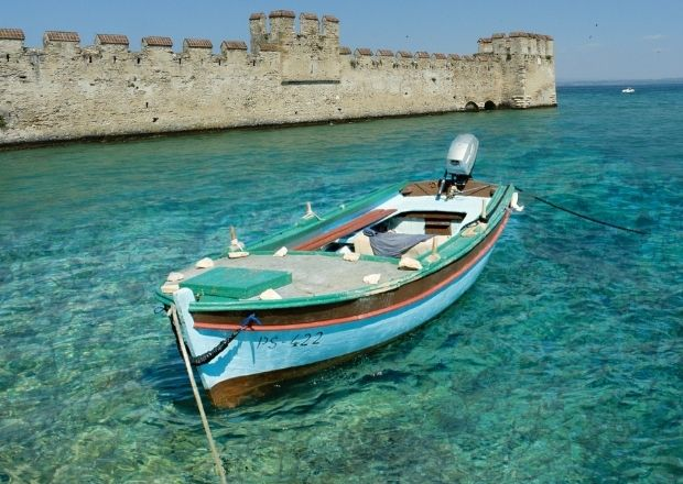 Sirmione barca